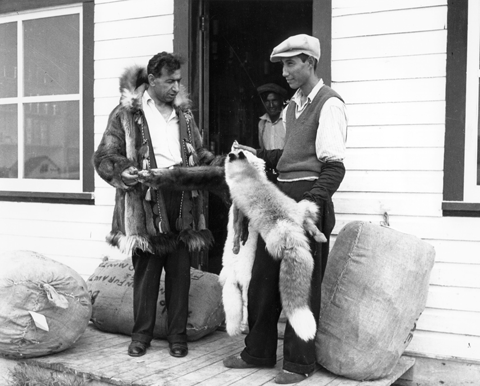 Many Lebanese immigrants became fur traders in the north in the 1930s