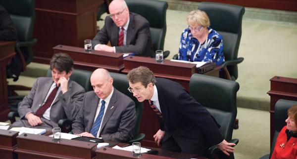 Liberal Leader David Swann.