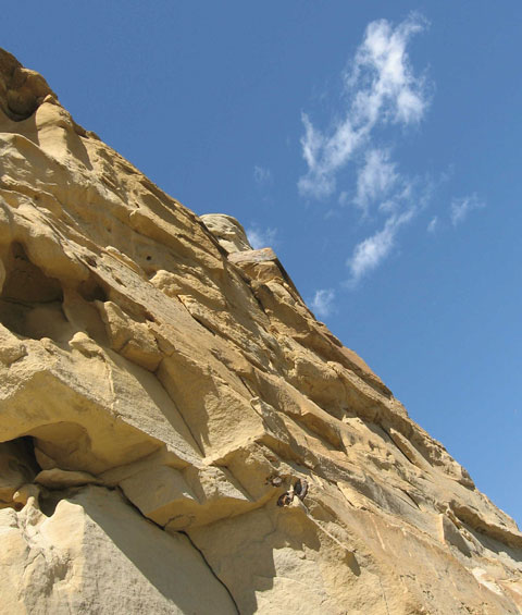 Hoodoos in Writing-on-Stone Provincial Park.